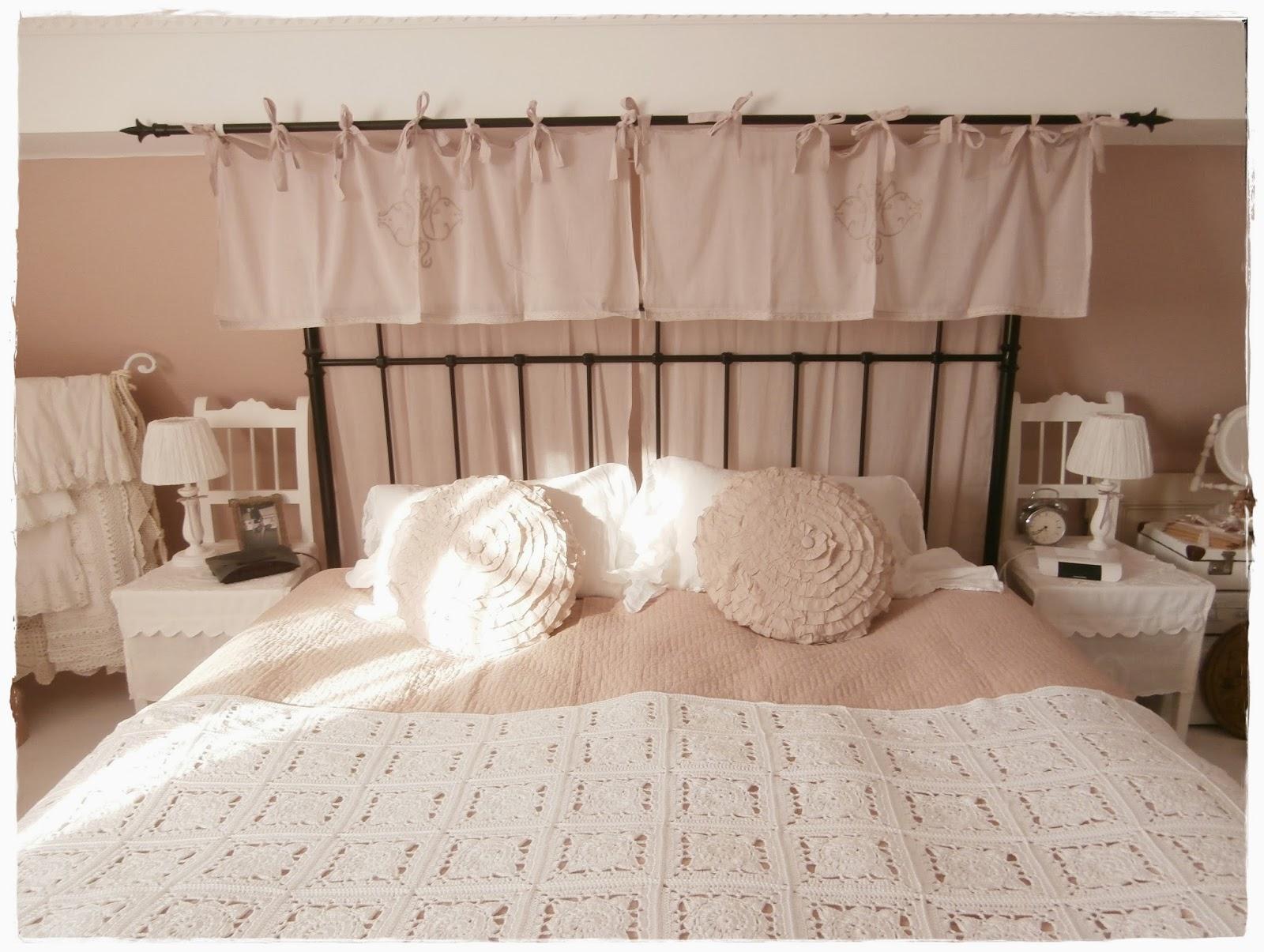 Shabby Landhaus: Vorher Nachher....Schlafzimmer.