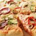 بيتزا الخضار والجبن