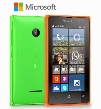 Harga Smartphone Microsoft Lumia 435 Dual SIM