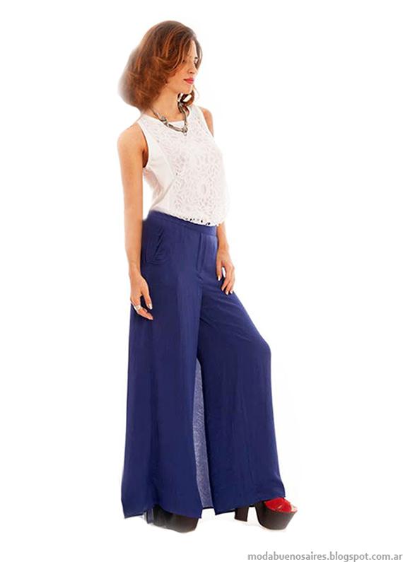 Pantalones casuales verano 2015. Looks casuales de moda primavera verano 2015.