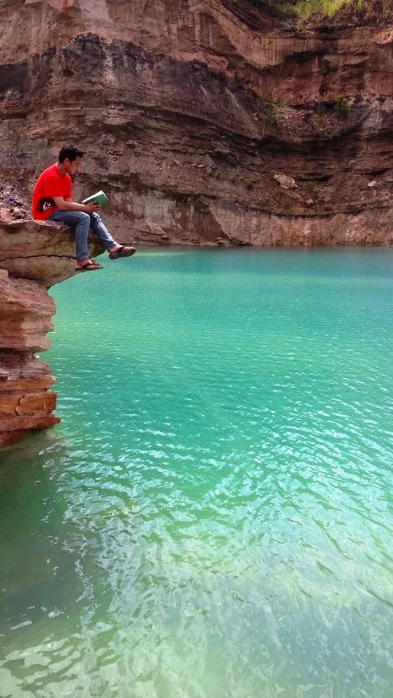 Danau Biru - Pengaron - Banjar