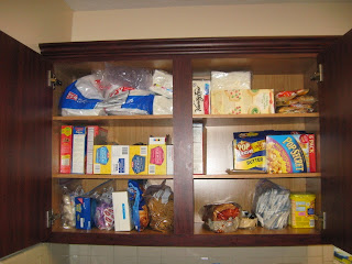 30 Day Paleo Challenge - Kid Pantry Before