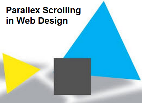 parallex scrolling in web design