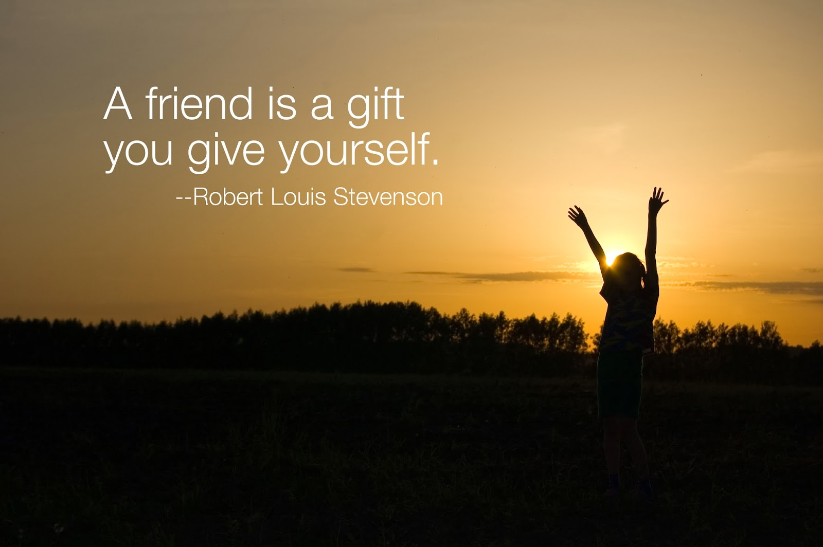 Be a friend to yourself