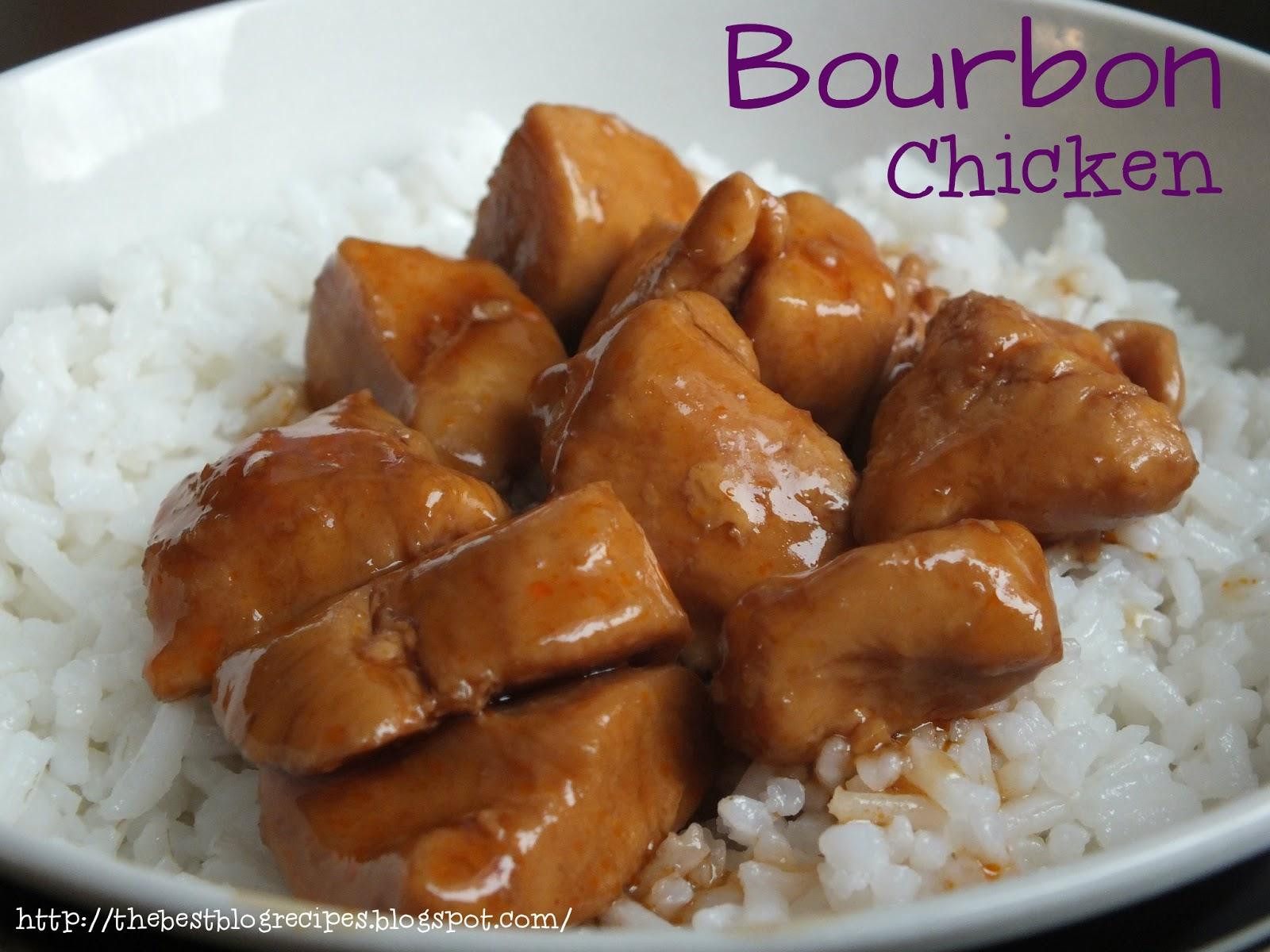 The Best Blog Recipes: Bourbon Chicken