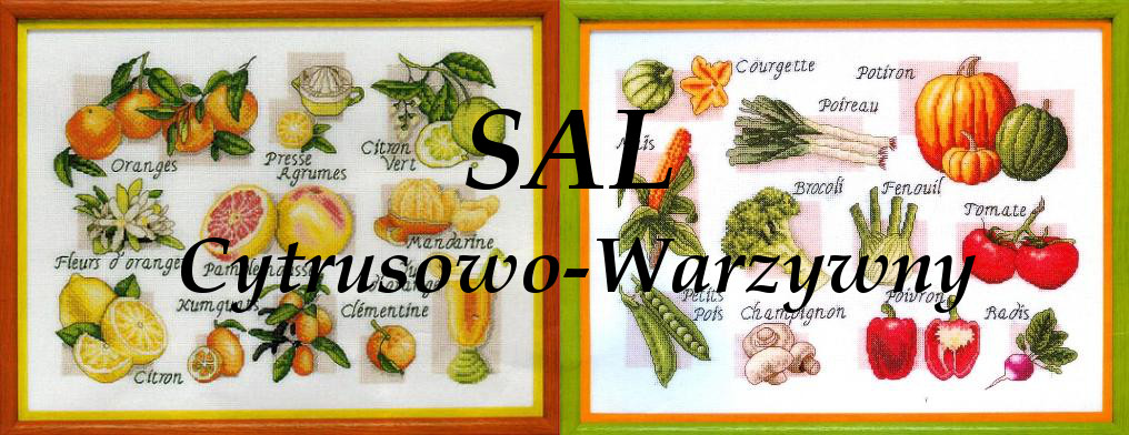 SAL Cytrusowo - Warzywny
