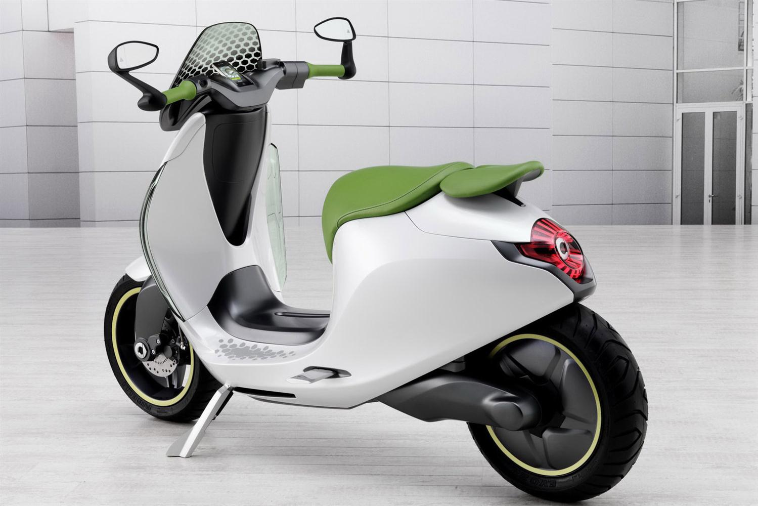 electric motor scooter: