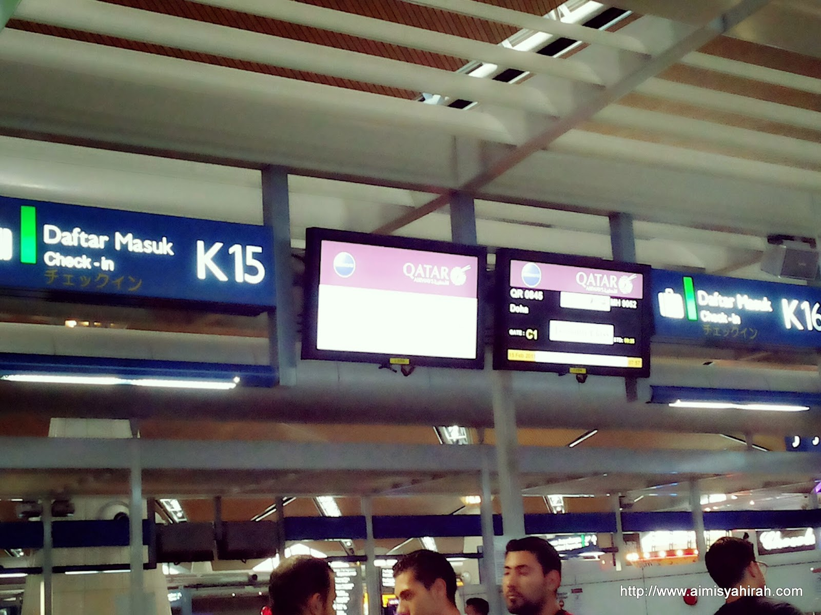 AIMI SYAHIRAH  MarvelousMisya: Istanbul Trip #1 : 3 flight