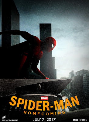 Poster of Spider Man Homecoming 2017 Theatrical Official Trailer Free Download HD 720P