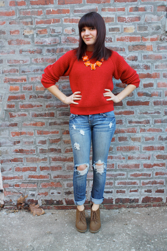KansasCouture.com : The Scarlet Sweater