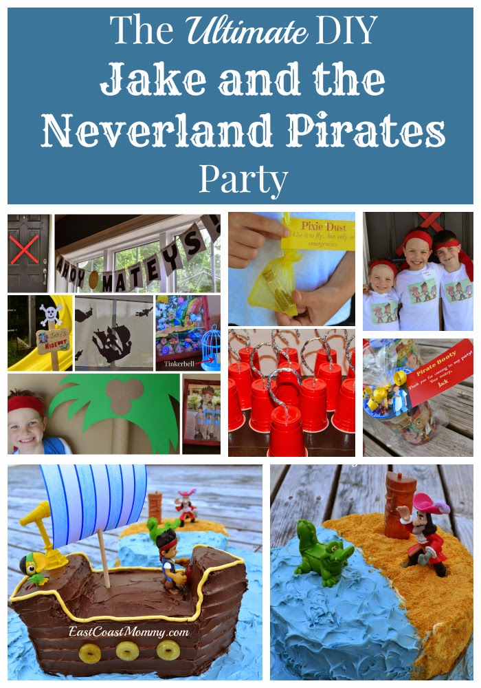 East Coast Mommy: The Ultimate DIY Jake and the Neverland Pirates ...