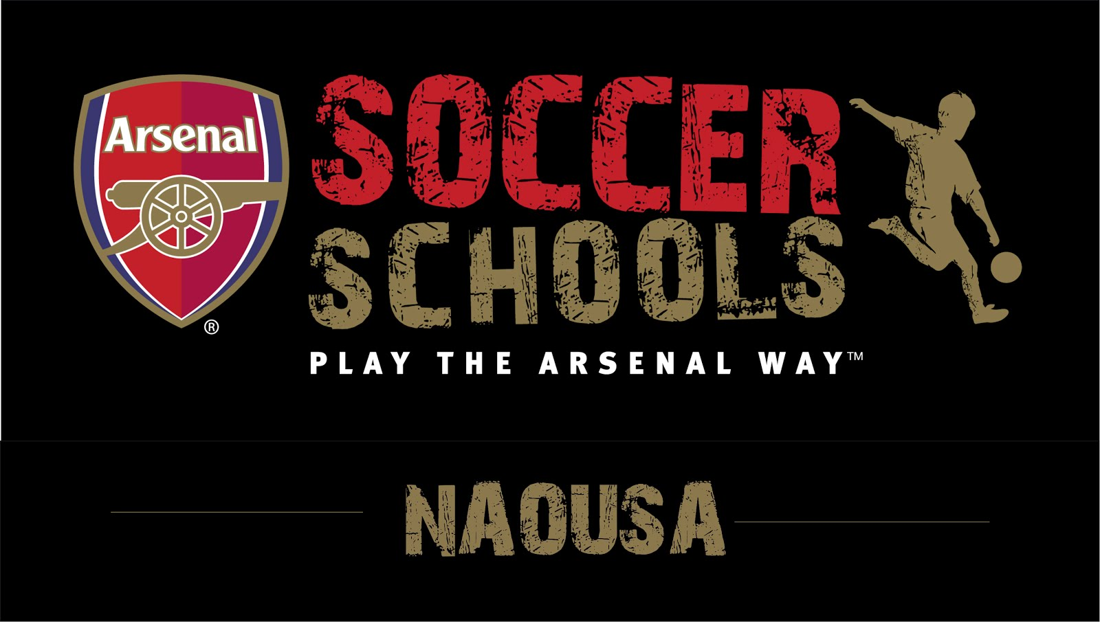 ARSENAL SOCCER SCHOOL ΝΑΟΥΣΑΣ