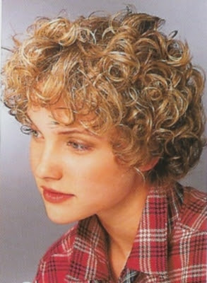 short curly hairstyles for women with oval faces - Short Curly ...