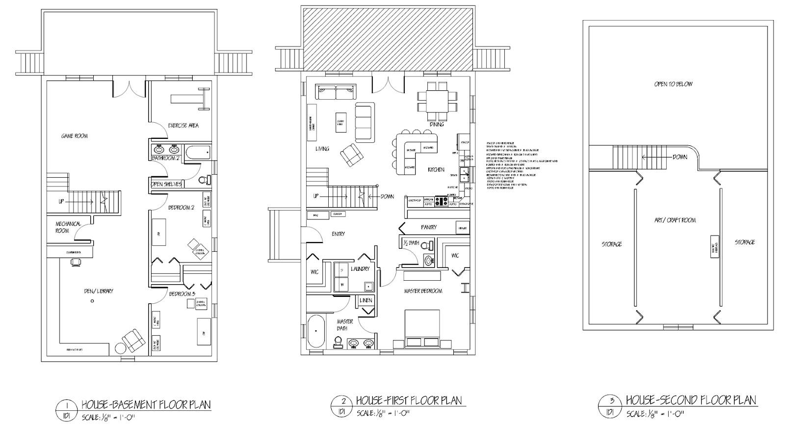 Life Line Design Floor Plans For Home