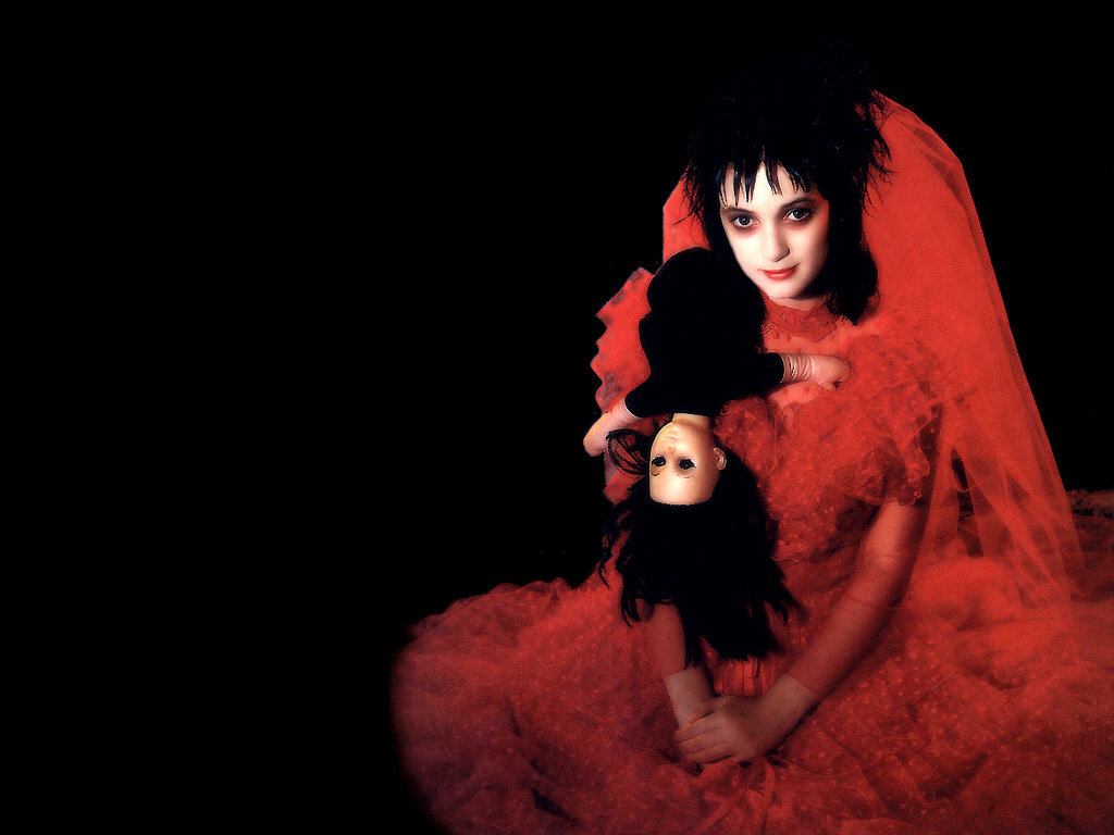 What Katie Healy Did Lydia Deetz Halloween Make Up Look