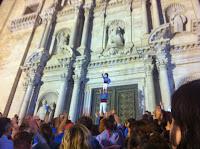 Marrecs de Salt. Girona. Pujada a la Catedral. Festes de Sant Narcís. 2013.