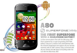 Micromax A80 Superfone