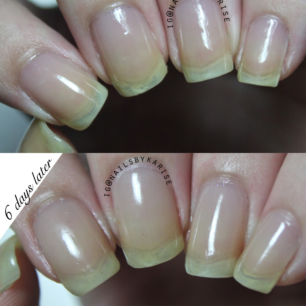 OPI Nail Envy 6 days test (Review) - Nice Things To List