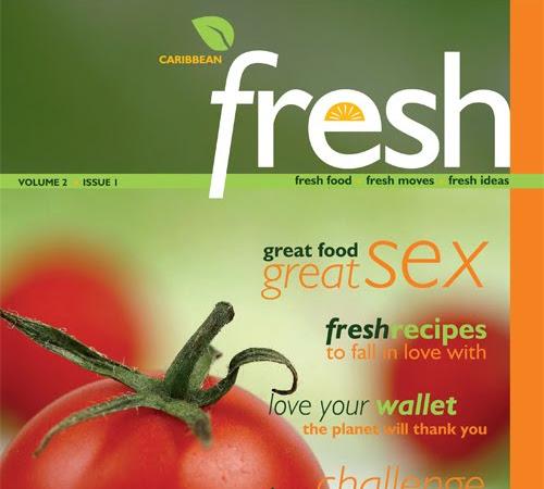 CARIBBEAN FRESH Magazine - Katherine Atkinson