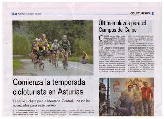 VI Campus de Ciclismo Orbea Actívate el 16.  20.de Febrero en Calpe con la presencia de Alejandro Valverde y Fernando Escartín