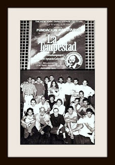Carlos Giménez en New York: La Tempestad, The New York Shakespeare Festival 1991