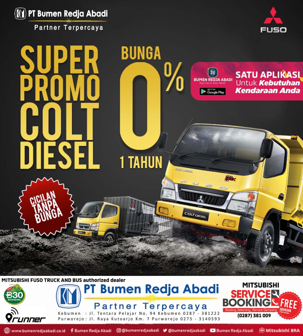 Promo Colt Diesel Bunga 0%