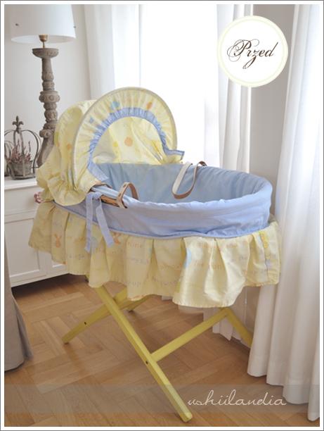 koszyk mojżesza dla noworodka - przed / moses basket for infants - before