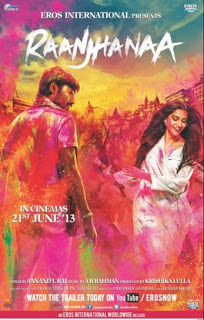 Raanjhanaa (2013) Movie Poster