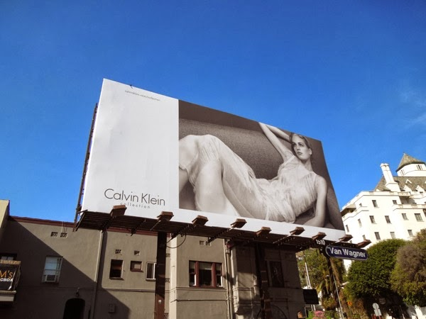 Calvin Klein Collection Spring 2014 billboard