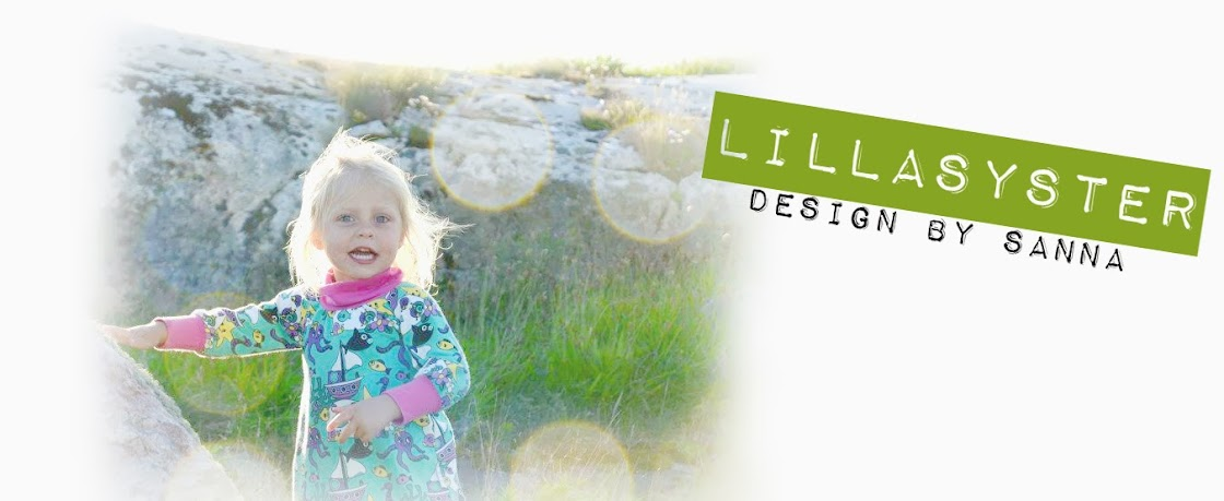 lillaSYSTER design by sanna