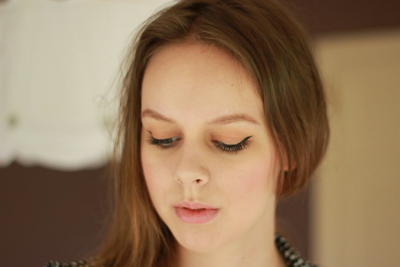 Alexa Chung inspired make-up look