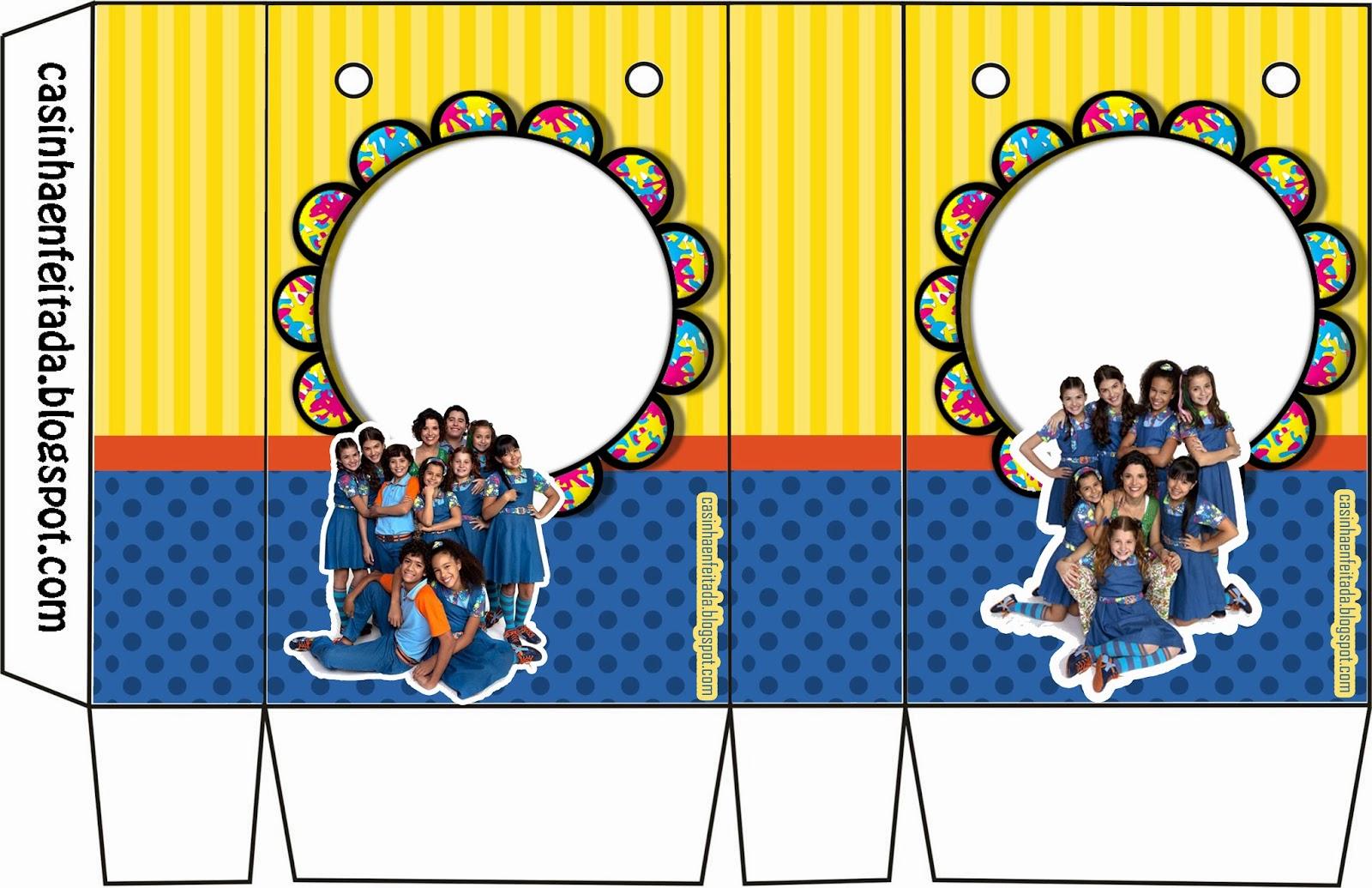 Casinha de Criança Kit Festa Chiquititas Para Imprimir Grátis