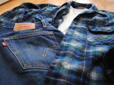Vintage Pendleton Wool Shirt with 501