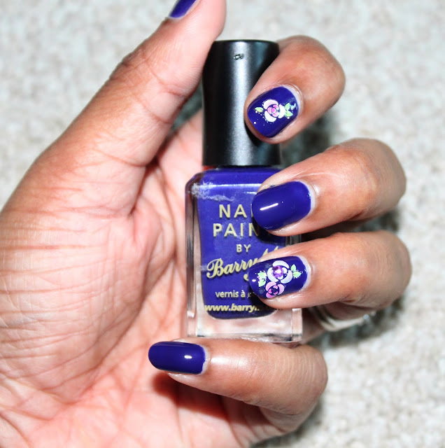 Nail Of The Day | Indigo by Barry M