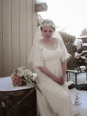Alannah Autrey vintage bridal photographs