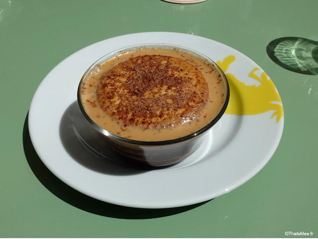 Tiramisu de L'Imbécile galette saint-michel restaurant Poulet Puree Boulogne-billancourt rotisserie rotssage