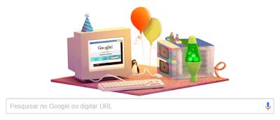 Google celebra o 17º aniversário
