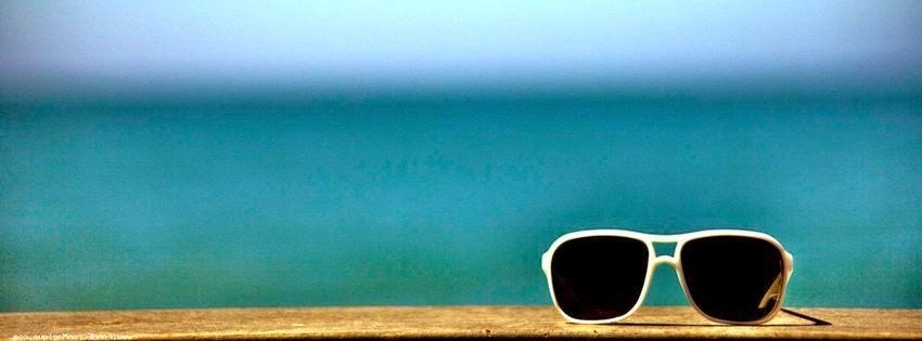 Jolie couverture facebook lunette pour l'été