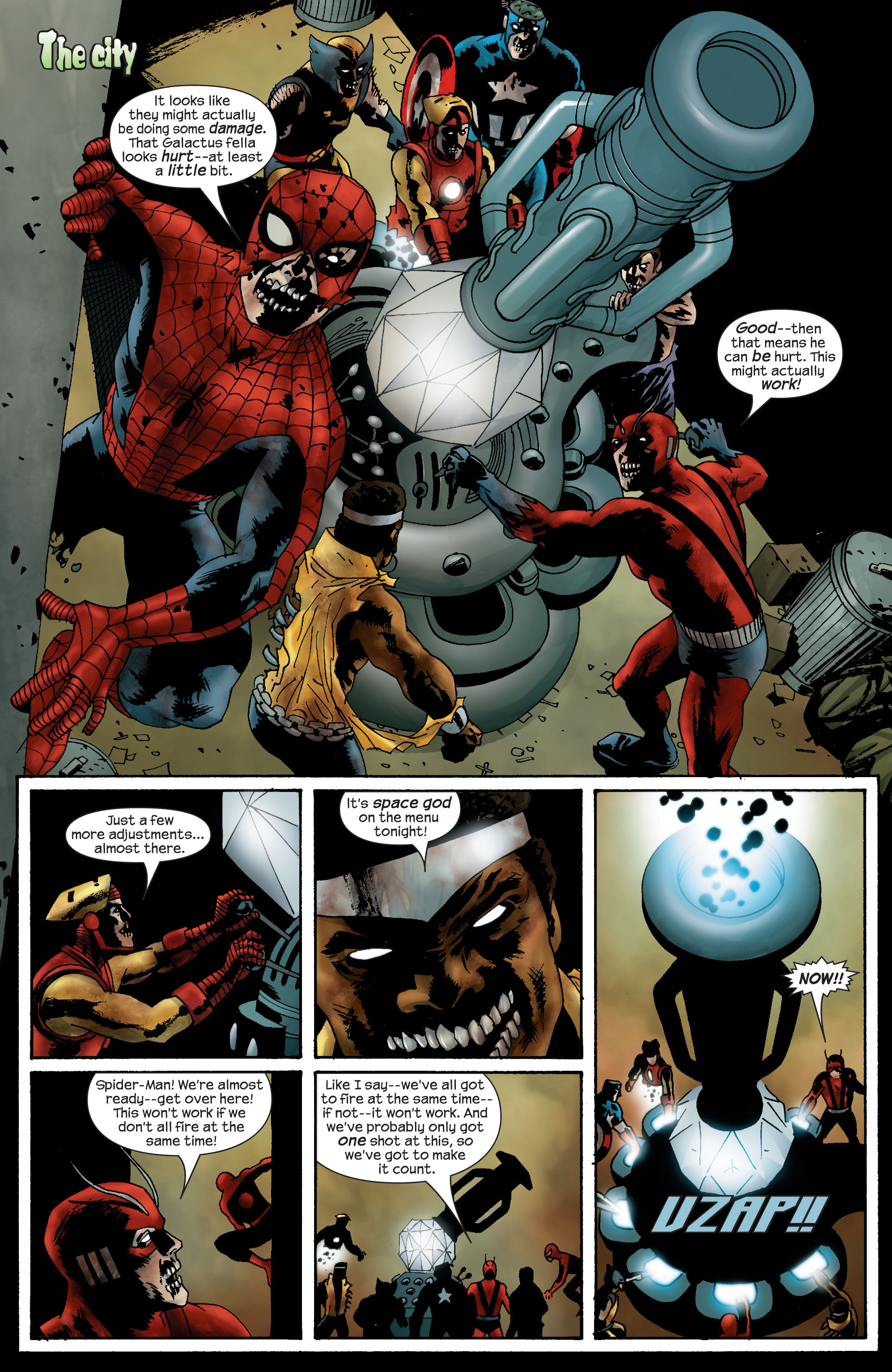 Marvel Zombies (2006) Issue #4 #4 - English 21