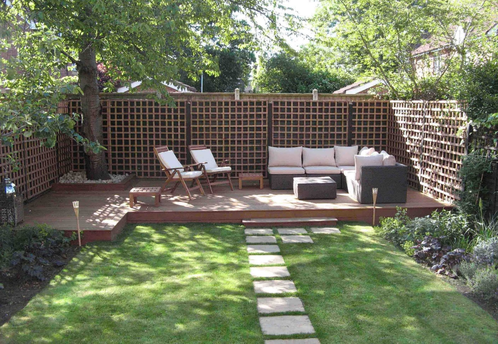 Simple Backyard Design Ideas Fabulous Creative Amp Professional