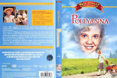 Pollyanna - 1960, caratula, cover, dvd.