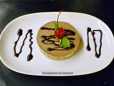 Restaurante Montello Gourmet: Torta de Três Chocolates