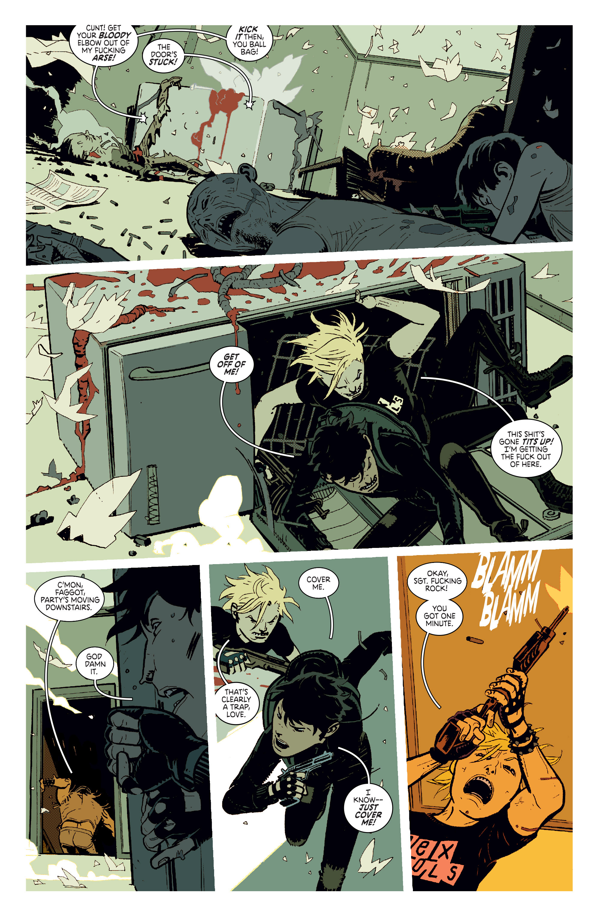 Read online Deadly Class comic -  Issue #11 - 9