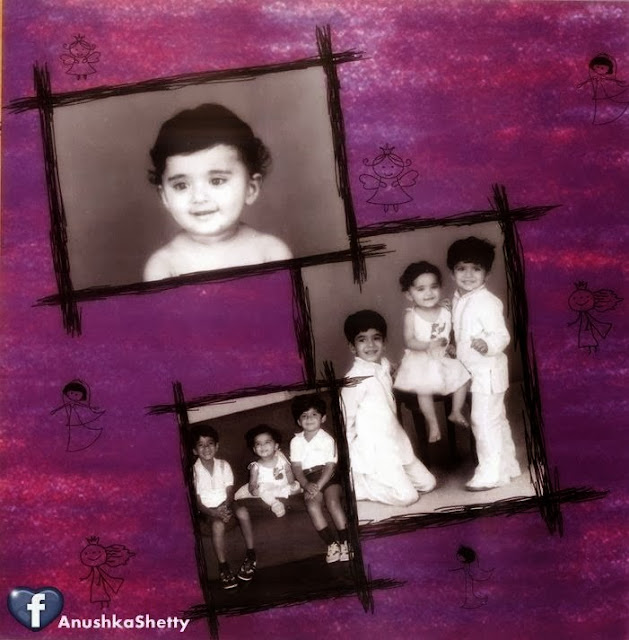 anushka shetty childhood