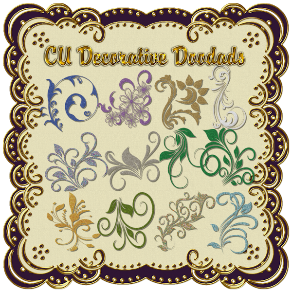 Commercial Use Decorative DooDads