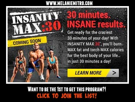 Insanity Max30 List