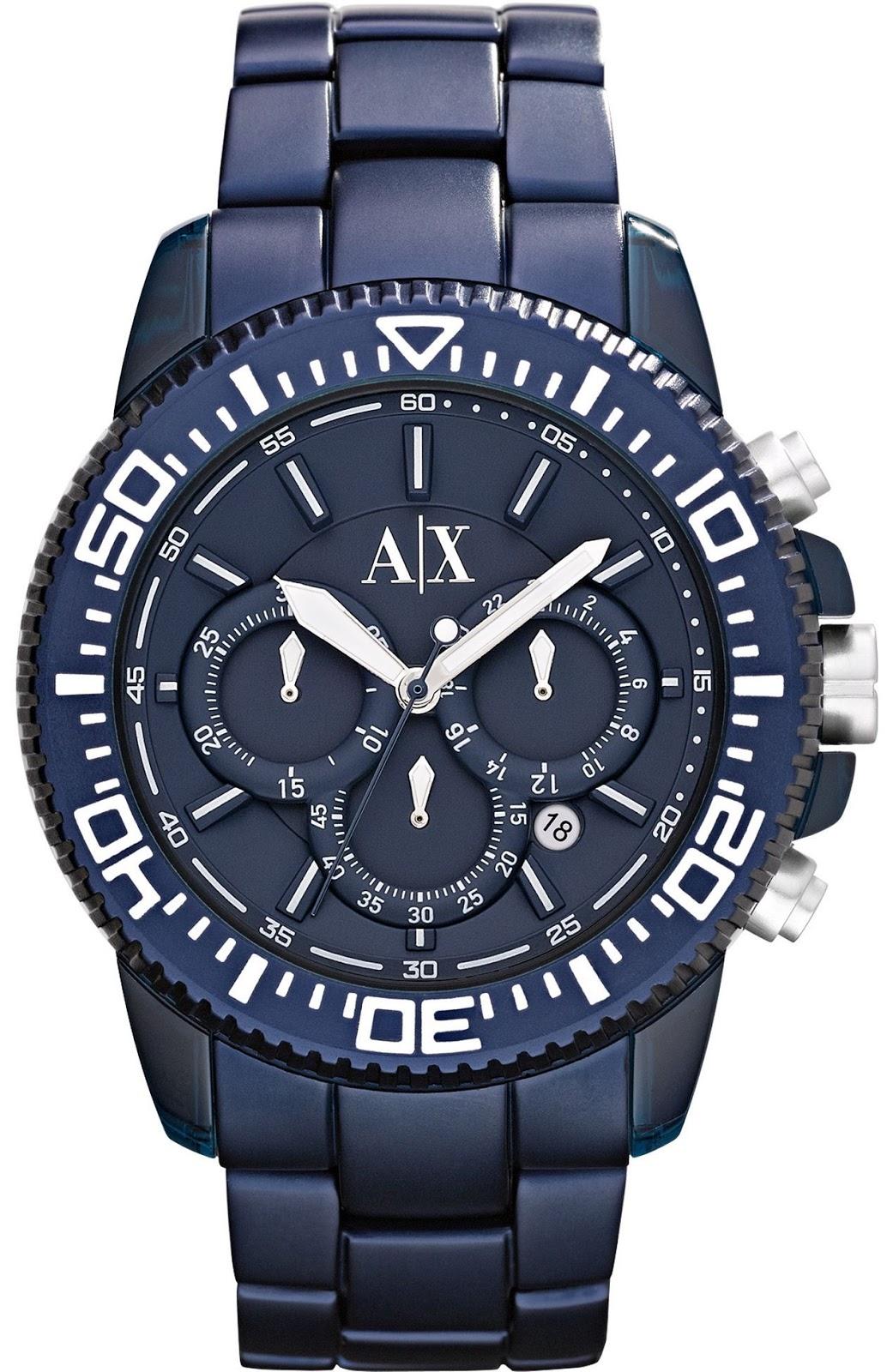 Armani Exchange black Watches