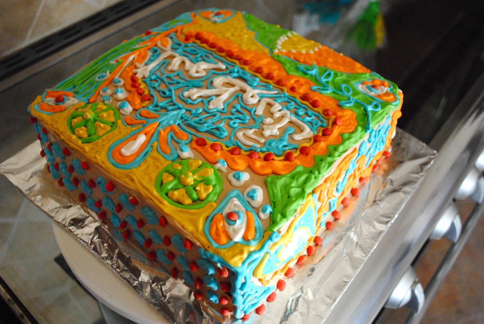 N Mehndi Cake : Truck art piece of cake©