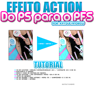EFEITO ACTION Do Ps para o PFS