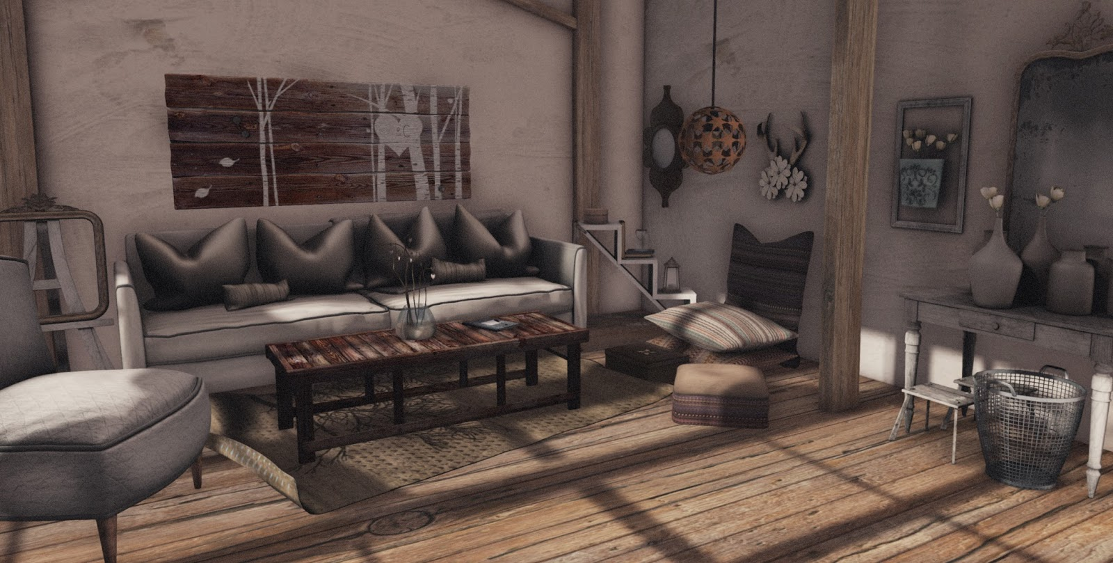 The second life of a shabby couch